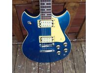 Yamaha SG-800s Standard (1982, Metallic Blue, good condition).
