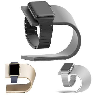 HOT Simple Aluminum Charging Dock Station Charger Holder Stand For Apple Watch