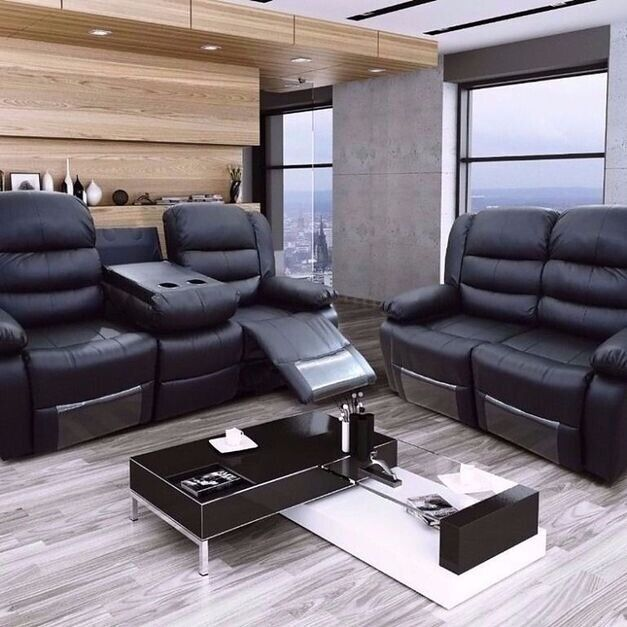 Marvelous 100 Real Bonded Leather Recliner Sofas Super Clearance Sale Gauranteed Lowest Prices In Earls Court London Gumtree Bralicious Painted Fabric Chair Ideas Braliciousco