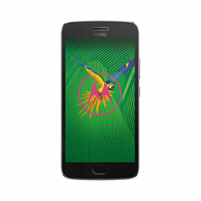 Android Phone - Motorola MOTO G5 Plus XT1687 32GB Lunar Grey Factory Unlocked Smartphone