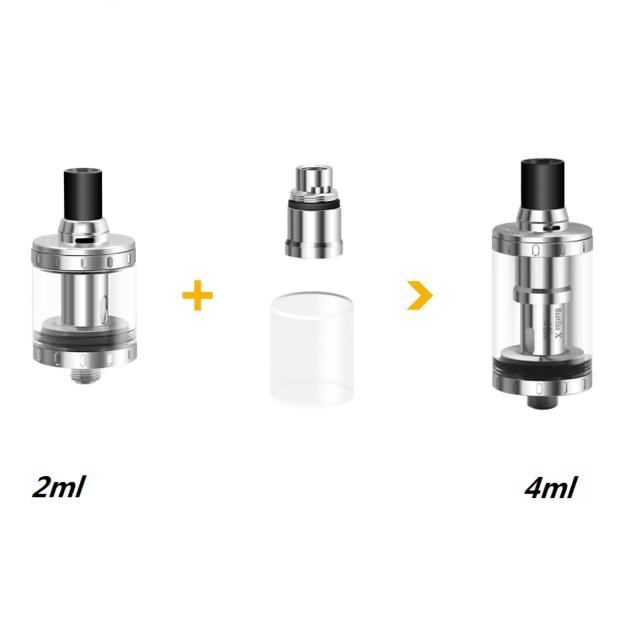authentique kit d'extension, adaptateur 4ml pour aspire nautilus x