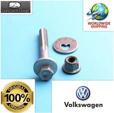 - GENUINE VW,AUDI,SEAT Rear Upper Control Arm Adjuster Eccentric Bolt Nut Kit