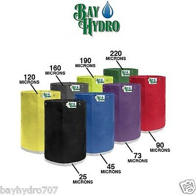 Bay Hydro 5 Gallon Replacement Bubble Ice Extraction Bags Choose Your Micron Sz