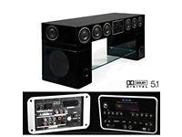 Quantum 5.1 Speaker Stand Entertainment System
