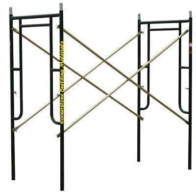 4 Set Of 3 X 67 X 10 Plastering Masonry Scaffold Frame Set Cbmscaffold