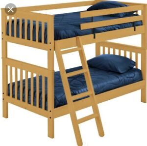 Bunk beds twin over twin CRATE DESIGN