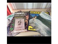 Albums. Irish interest. X 4. Vinyl records