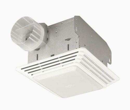 Broan 2.5-Sone 50-CFM White Bathroom Fan