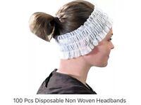 Beauty/Spa Disposable headbands