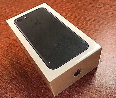 Brand New   Sealed Apple Iphone 7 32Gb At T Att Matte Black Cricket Wireless