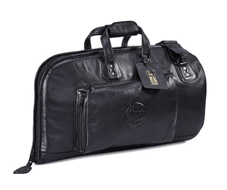 gard Black Leather flugelhorn gig bag