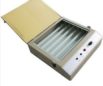 Mini Uv Exposure Unit 10.2x8.3 Pad Printing Hot Stamping Screen Printing Curing