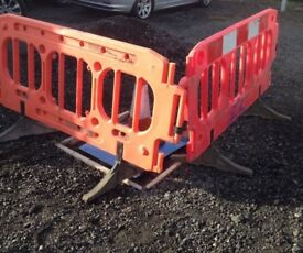 Safety Barriers price reduced for quick sale