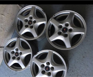 Pontiac Montana alloy wheels 15inch 5x115