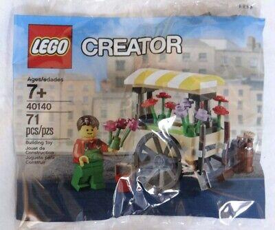 Lego 40140 Creator Flower Cart Wagon Promo Polybag for Modular Town Buildings