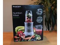 Silvercrest Nutrition Mixer Brand New in Box 700W like the Nutribullet