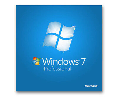 Scrap PC/Laptop with Dell HP Windows 7 Professional  COA License Key 32 64bit