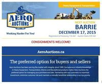 PUBLIC AUCTION - FEATURING HEAVY EQUIPMENT & TRANSPORTATION!