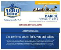 PUBLIC AUCTION - FEATURING HEAVY EQUIPMENT!