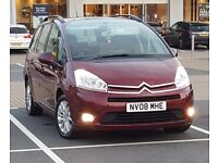 *LUXURY 7 SEATER* Citroen Grand C4 Picasso 1.8i VTR+ IMMACULATE Vauxhall Zafira, ford Galaxy Seat