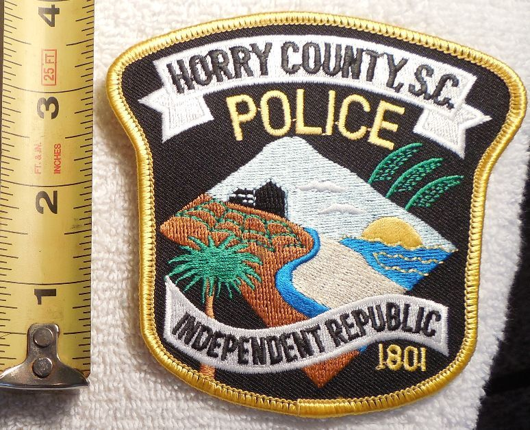 HORRY COUNTY SOUTH CAROLINA POLICE PATCH (HIGHWAY PATROL, SHERIFF, EMS, STATE)