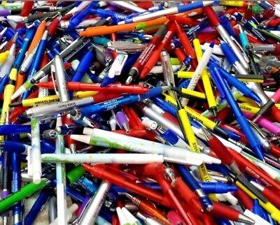 6 Pounds Wholesale Lot Misprint Ink Pens Ball Point Retractable Pens 6 Pounds