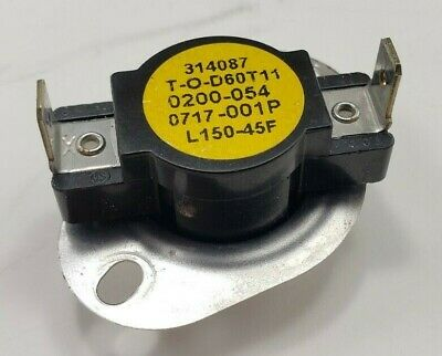 NEW THERM-O-DISC T-O-D THERMAL LIMIT SWITCH L160-40F 60TX01