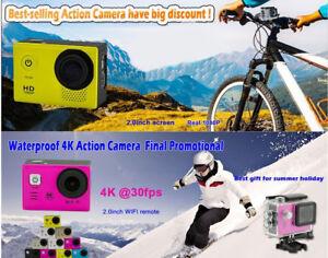 WiFi  Action Camera - Go Pro Camera