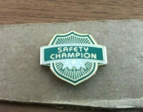 Hess Safety Champion Pin