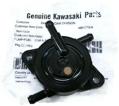 Genuine Kawasaki 49040-7008 49040-0770 Fuel Pump Models FS