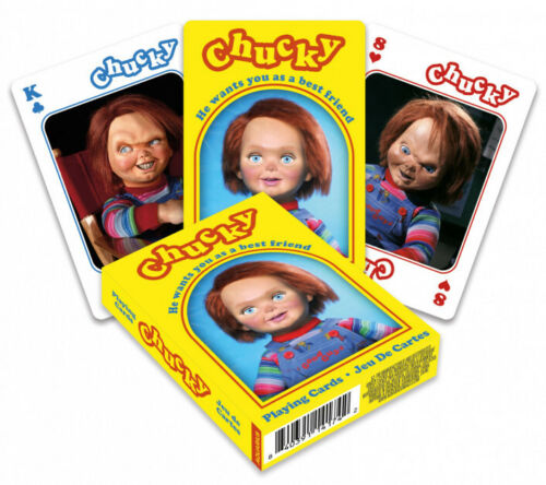 Chucky set of 52 playing cards (+ jokers) (nm)