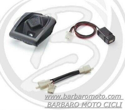 SUPPORTO UNIVERSALE + PORTA USB + CAVO ORIGINALE YAMAHA X-MAX 125 XMAX...