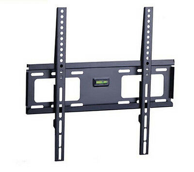 "LCD LED PLASMA FLAT TILT TV WALL MOUNT BRACKET for 32"" - 55"" TVs up to 121 lbs"