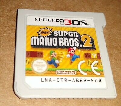 NEW SUPER MARIO BROS 2 ! PAL ! CARTRIDGE ONLY !  NINTENDO  3DS + 2DS !