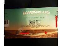 Bourdmasters ticket vip charger