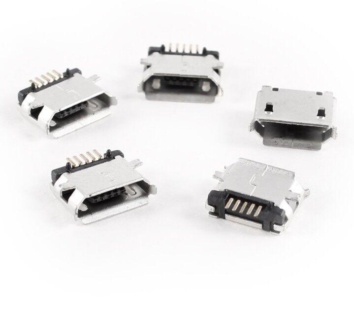 10pcs Micro USB Type B Female 5Pin SMT Socket Jack Connector USA SELLER