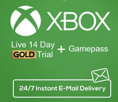 XBOX LIVE 14 DAY (2 WEEKS) GOLD & GamePass CODE INSTANT DELIVERY 24/7 Uk Seller