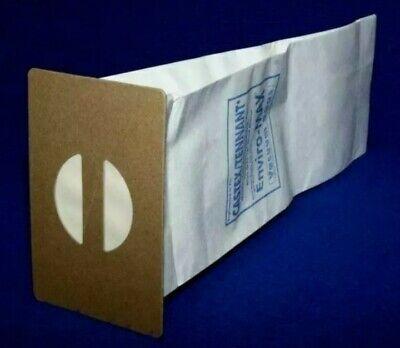 Tennant 3220 1067457 - Vacuum Bags Nobles Lite Trac Blue Star 604838 611783 Read