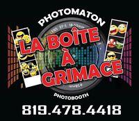 La Boite à Grimace Photomaton - Photobooth - débute à 200$
