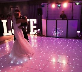 PHOTO BOOTH - LED DANCE FLOOR - CANDY CART / Wedding & Event Hire. Eye Smyle Events.