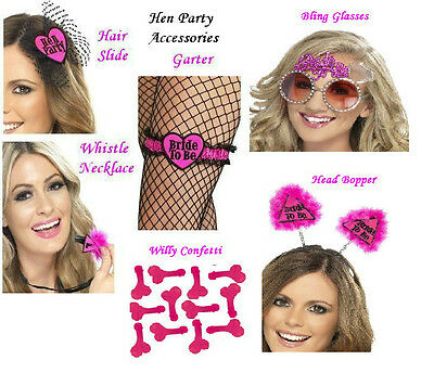 SMIFFY'S  BRIDE TO BE / HEN PARTY / GIRLS NIGHT OUT ACCESSORIES CHOICE DESIGNS](Girls Night Out Accessories)