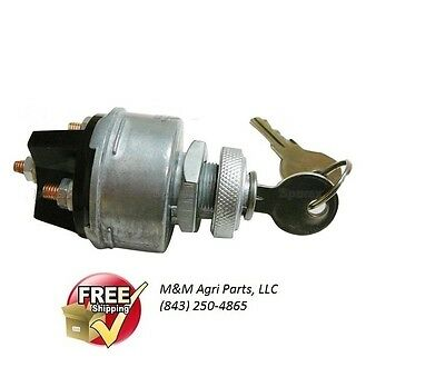 Ignition Switch Ih Farmall Allis Chalmers John Deere Case White Oliver Tractor