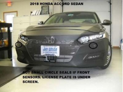 Lebra Front End Mask Cover Bra Fits Honda Accord Sedan 2018-2019 18 19  ()