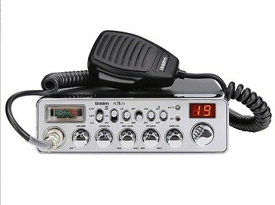 Uniden PC78LTX CB Radio SWR meter on board High-Cut filter Brand New Low $