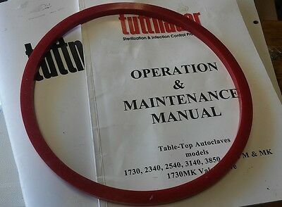 New Oem Tuttnauer Sterilizer Autoclave Door Gasket Seal 2340m E Ea Ez9 L02610118
