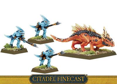 Warhammer AoS Seraphon Salamander Hunting Pack New in Box Finecast