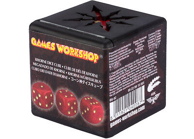 Games Workshop Chaos Dice Khorne Red New D6 Warhammer 40k Fantasy Dice OOP Red Chaos