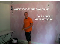 TOP DECORATING - Builder and Painter and Decorator, West, North, South and Central London