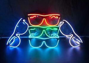 LED Light Flashing eyeglasses Christmas Halloween