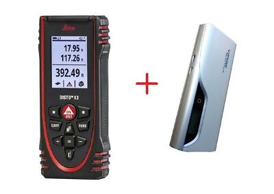 Leica Disto X3 Laser Meter With Free Gift 11000 Mah Power Bank